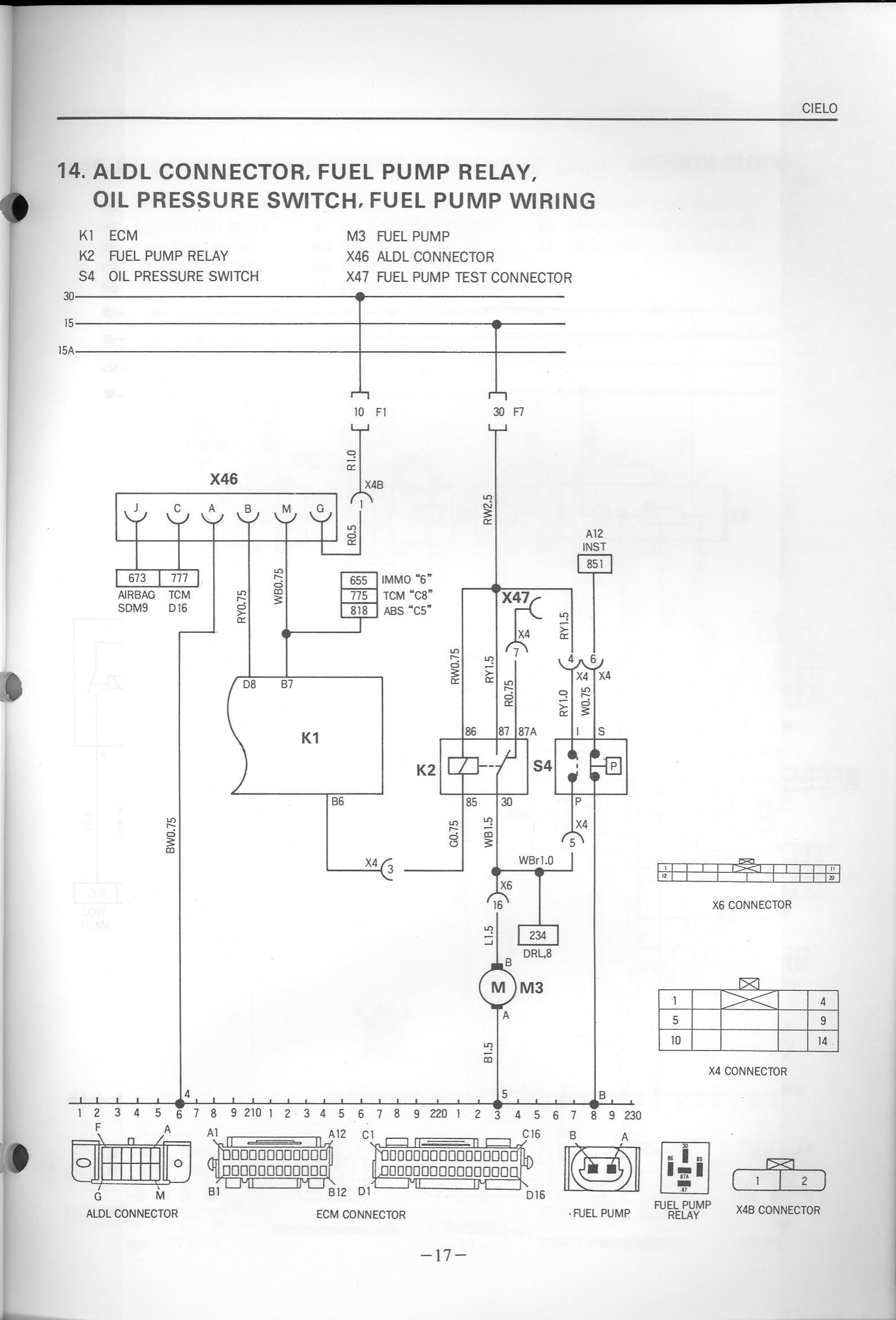 Index Of Efi Daewoocielo Fuel Pump Wiring Oil Pressure P17